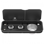 Thetford Topline 111 Double Burner Combination Hob and Sink Unit